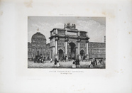 Visualizza Arc de Triomphe du Carrousel, Paris. planche … anteprime su