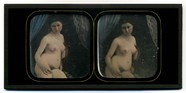 Visualizza Round-faced nude woman on a high-backed chair… anteprime su
