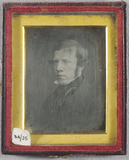 Thumbnail preview of Portrait of a man, three quarter  view, head …