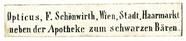 Visualizza Etikett von F. Schönwirth anteprime su