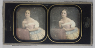 Visualizza Hand coloured stereo view, known in the colle… anteprime su