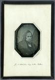 Miniaturansicht Vorschau von Porträt von Josef Berres. Runde Daguerreotypi…