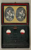 Thumbnail af Bildnis einer jungen Dame, Dreiviertelfigur, …
