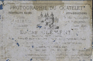 Visualizza photographer label of Eugène Clément, Paris, … anteprime su