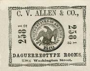 Visualizza photographers label, Allen, C. V., & Co, Bost… anteprime su