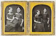 Miniaturansicht Vorschau von Doppelporträt mit zwei Mädchen. Ein schönes B…