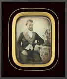 Visualizza Portrait d'homme, membre d'une loge maçonniqu… anteprime su