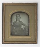 Visualizza Porträt einer unbekannten Dame mit Buch, halb… anteprime su