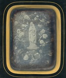 Visualizza Statuette d'une vierge à l'enfant avec une co… anteprime su