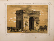 Thumbnail preview of Paris daguerréotypé No 40, l'Arc de Triomphe.…