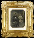 Forhåndsvisning av Porträt eines sitzenden Ehepaares, die Frau e…