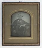 Visualizza Porträt eines unbekannten Herrn mit Buch, Kni… anteprime su