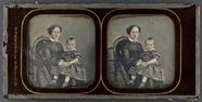 Visualizza Bildnis einer jungen Frau mit ihrem Sohn auf … anteprime su