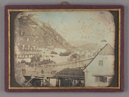 Visualizza Bridges, Graz. City view, some people standin… anteprime su