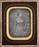 Visualizza Porträt einer unbekannten jungen Dame mit Buc… anteprime su