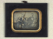 Thumbnail preview of Group portrait of reverend H. V. Rasmussen wi…