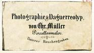 Visualizza Etikett von Chr. Müller anteprime su