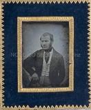 Forhåndsvisning av Porträt eines unbekannten Herrn, halbfigurig,…
