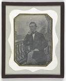 Forhåndsvisning av Porträt eines jungen Mannes, vor einer gemalt…
