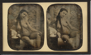 Prévisualisation de Academic study, a naked woman sitting in a ch… imagettes