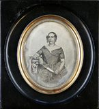 Thumbnail preview of Portrait of a middle-aged woman