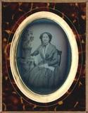 Visualizza En face Porträt einer unbekannten Dame, auf e… anteprime su