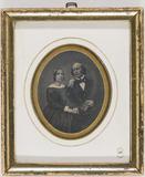 Visualizza Portrett et sittende par, en kvinne og en man… anteprime su