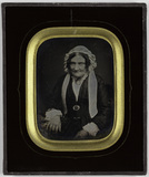 Visualizza Oude vrouw in burgerdracht (1845-1860) anteprime su