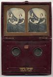 Miniaturansicht Vorschau von Portrait of a two seated women sitting facing…