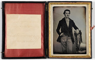 Thumbnail preview of Portrait of a young dandy, leaning on a chair…