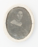 Visualizza Porträt einer unbekannten Dame, halbfigurig, … anteprime su