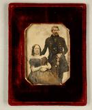Thumbnail preview van Bildnis eines Ehepaars, sie sitzend, er stehe…
