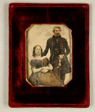 Thumbnail preview of Bildnis eines Ehepaars, sie sitzend, er stehe…