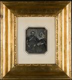 "Visualizza Portrett av et par. General Johan Bernt ""Klip… anteprime su"