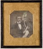 Esikatselunkuvan Unbekannter Vater mit seinem Sohn näyttö