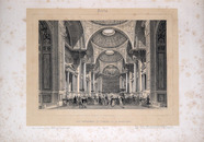 Visualizza Vue intérieure de l'église de la Madeliene, P… anteprime su