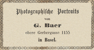 Visualizza advertisement, photographers label of Baer, i… anteprime su