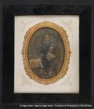 """Visualizza Portrait enfant avec poupée """"Marie FETZER 185… anteprime su"""