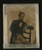 Thumbnail preview of Bildnis eines jungen Mannes mit karierter Hos…