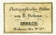 Visualizza Etikett von B. Oehme anteprime su