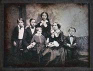 Visualizza Porträt einer sechsköpfigen Familie (Eltern m… anteprime su