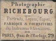 Visualizza photographer labels of Mr Richebourg, a Paris… anteprime su
