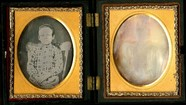 Thumbnail preview of Portrait of twins (two separated portraits: o…