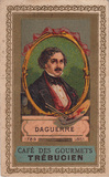 Thumbnail preview of portrait of Daguerre; chromo, advertisement f…