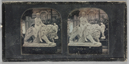 Miniaturansicht Vorschau von View of a statue 'Una and the Lion' by John B…