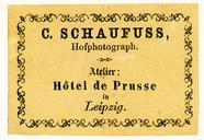 Visualizza Etikett von C. Schaufuss anteprime su