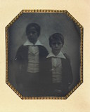 Thumbnail preview of Double portait of unidentified children