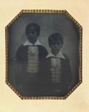 Stručný náhled Double portait of unidentified children