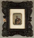 Visualizza Mann mit Pfeife, im Rahmen, 1845 - 1850.  Gle… anteprime su