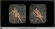 Forhåndsvisning av Weiblicher Akt auf einem Sofa